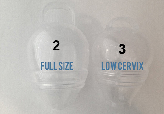 how to find cervix menstrual cup