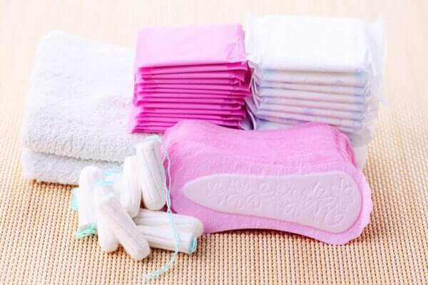 Like pads, tampons come in different sizes for heavier and lighter periods.