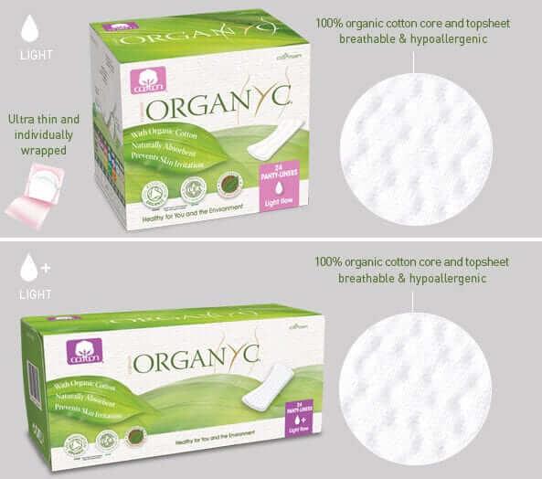 Top 5 Organic Cotton Menstrual Pads & Panty Liners