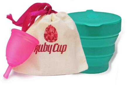 Ruby Cup 174 Menstrual Cup Full Review