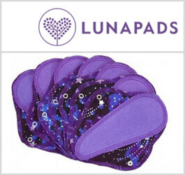 Lunapads Reusable Menstrual Cloth Pads Reviewed