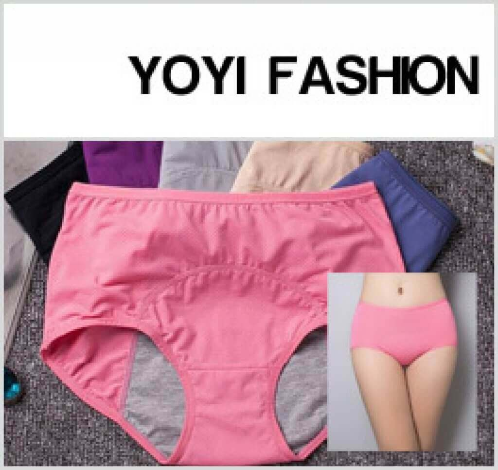 Yoyi Fashion 174 Period Panties Reviewed Solution To Leaks