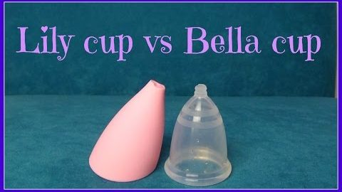 Lily cup vs Bella cup
