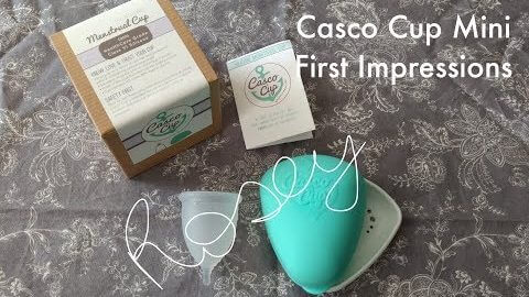 Casco Cup Mini First Impressions and Comparisons (Menstrual cups)