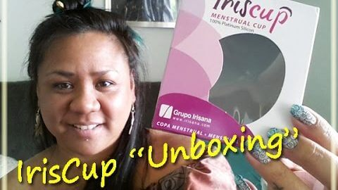 "IrisCup ""Unboxing"" & Initial Thoughts - Menstrual Cup"