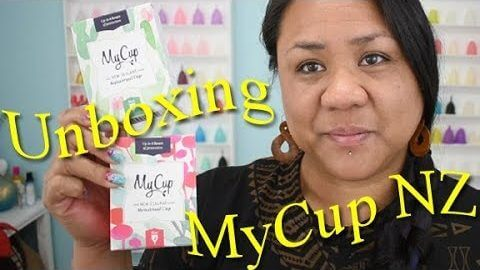 MyCup NZ Unboxing & Info - (Seam-Read Description) Menstrual Cup