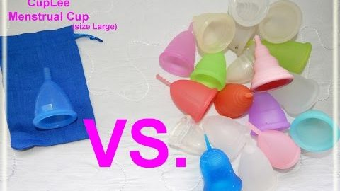 CupLee vs. Various Menstrual Cups - Comparison