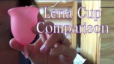 Lena Menstrual Cup Comparison | Little Vegan Mama UK