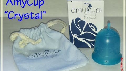 "Amy Cup ""Crystal"" Menstrual Cup Information - AmyCup"