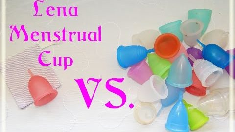 Lena Cup vs. Various Menstrual Cups - Comparison