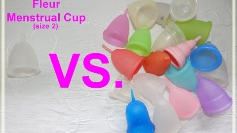 Fleur Cup vs Various Menstrual Cups - Comparison