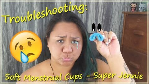 Troubleshooting: Soft Menstrual Cups - Super Jennie - Menstrual Cup 101
