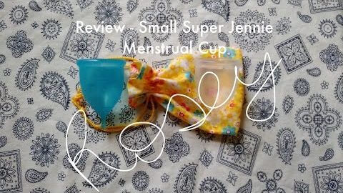 Small Super Jennie Cup - Menstrual Cup Review