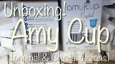 Amy Cup & Amy Cup Crystal Unboxing
