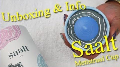 Saalt Cup Unboxing & Info - Menstrual Cups