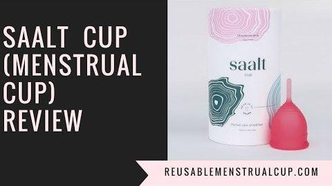 Saalt Cup (Menstrual Cup) Review