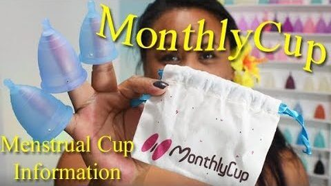 MonthlyCup Unboxing and Info - Menstrual Cup