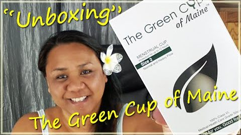 """Unboxing"" The Green Cup of Maine - Menstrual Cup"