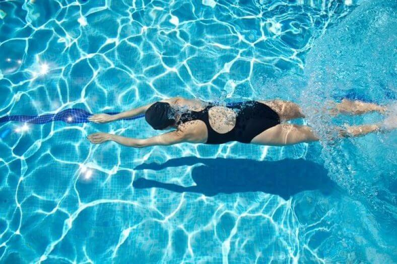 Swimming with a Menstrual Cup