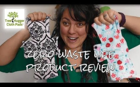 Treehugger Cloth Pads | Product Review on our Journey To Zero Waste