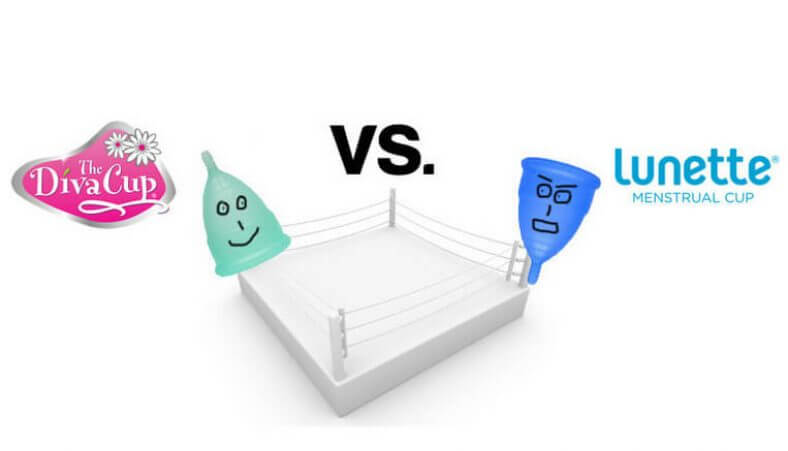Lunette vs. Diva Cup - Menstrual Cup Comparison