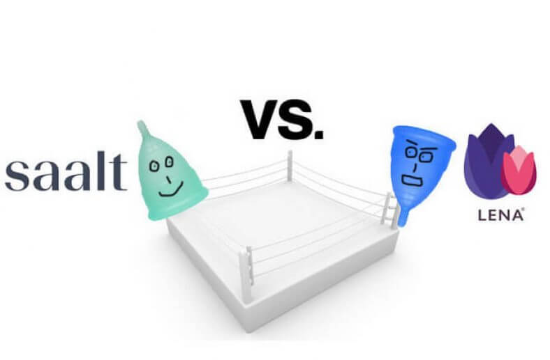 Saalt vs. Lena Cup - Menstrual Cup Comparison
