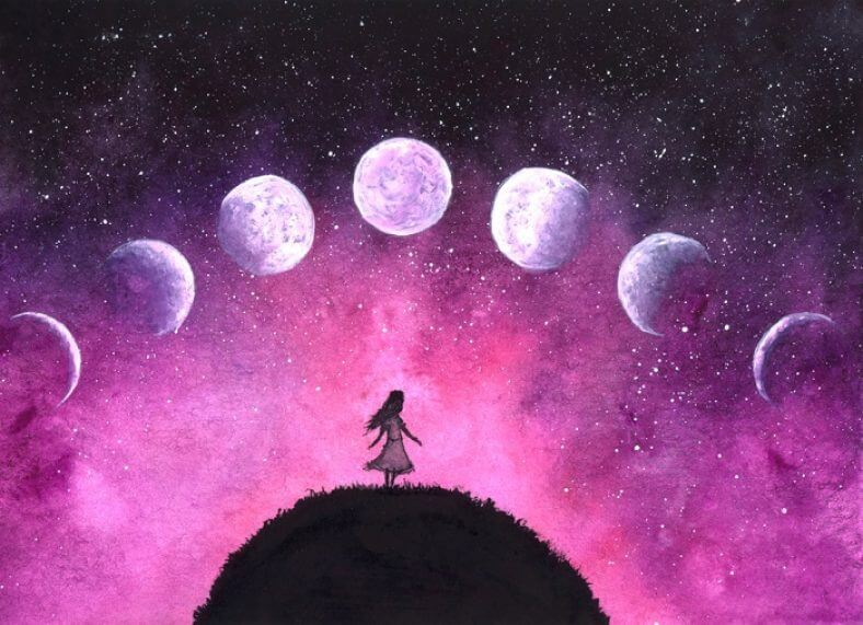 Syncing Your Menstrual Cycle with the Phases of the Moon